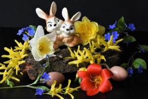 Ostern, Gesteck